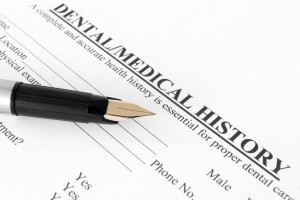 Dental/Medical History Form